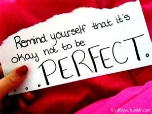 ok no perfection